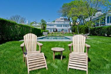 Teak Adirondack Chairs Goldenteak at posh residence
