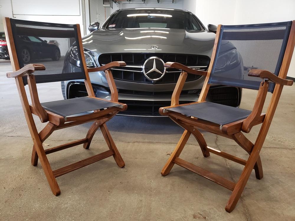 Mercedes and Goldenteak Teak Outdoor Furniure
