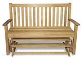 Teak Glider Bench Special Sale