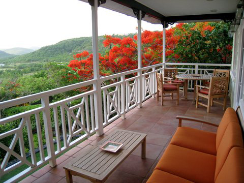 Goldenteak Deep Teak Seating in St. Lucia