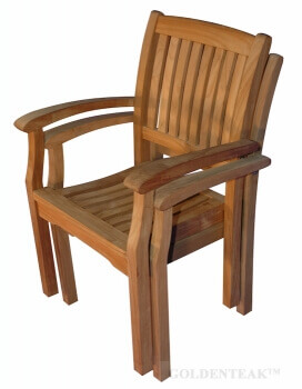 Exceptionnel Teak Stacking Chairs