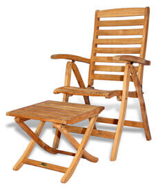Teak Recliner Chairs