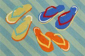 Summer Flip Flops Rug