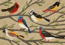 Bright Birds Rug