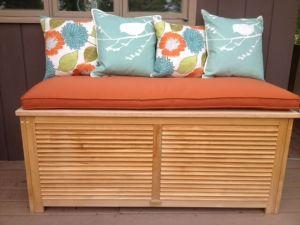 Cushion for top of Pool Cushion Box