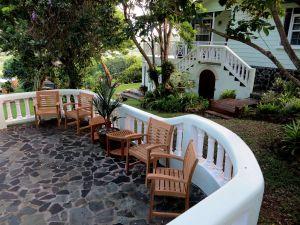 Teak Westerly Chair,Teak Corner Table,St. Lucia, Customer Photo