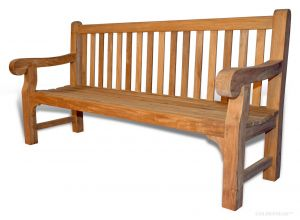 Hyde Park 6ft Bench Teak