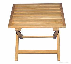 Teak End Table or Foot Stool 316F