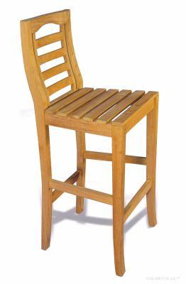 Portsmouth Teak Bar Chair