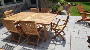 Teak Outdoor Dining Set  - Goldenteak Customer Photo