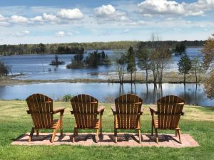 Teak Adirondacks Customer Photo - Goldenteak
