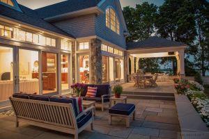 Teak Patio Furniture Seaside - Goldenteak Cust Photo