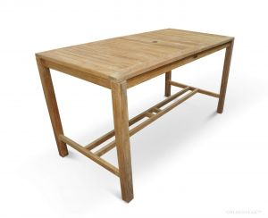 Teak Bar Height Dining Table 72 in. - Hyannis Collection