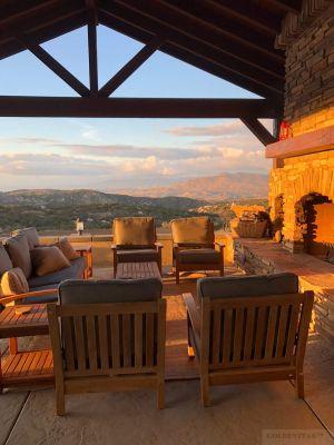 Teak Deep Seating Set CA Hills - Customer Photo Goldenteak
