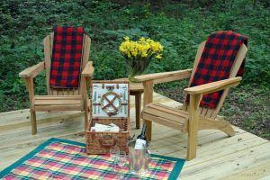Teak Adirondacks at Welsh Hills Inn - Goldenteak Customer Photo