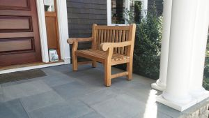 Hyde Park Teak Bench 4ft Customer Photo - Manchester - Goldenteak