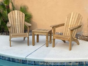 Goldenteak Adirondack Chair Photos Nevada