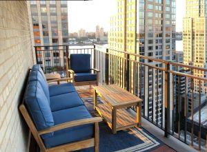 Deep Seating Conversation Set NYC - Goldenteak Cust Photo