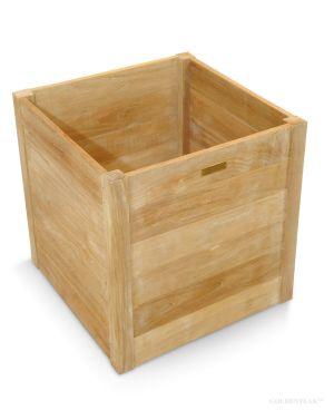 Contemporary Estate Teak Planter Box