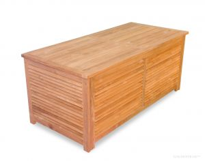 Teak Cushion Storage Pool and Dock Box