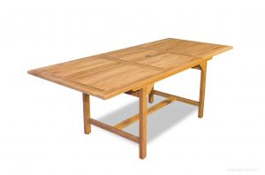 Teak Dining Rectangular Extension Table Medium - Bridgewater Collection
