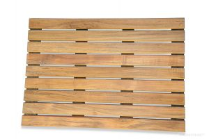 Teak Bath Mat 20 in x 14 in