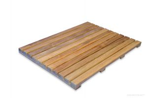 Teak Bath Mat 25 in x 18 in