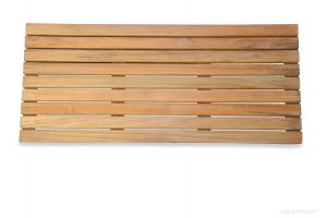 Teak Bath Mat 32 in x 14 in