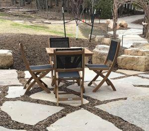 Teak Outdoor Dining Set PHOTO