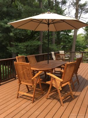 Teak Patio Set with Recliner Chairs - Customer Photo Goldenteak