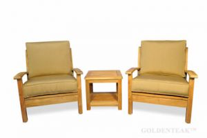 Teak Deep Seating Casual Conversation set