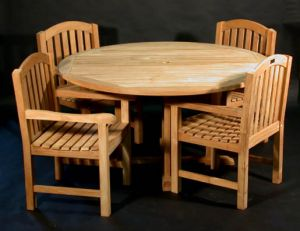 Teak Patio Dining 60
