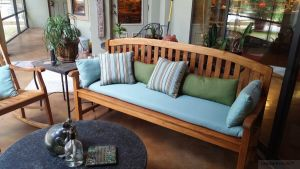 Teak Aquinah Bench Customer-Photo-Goldenteak
