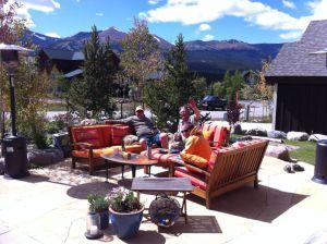 Teak Deep Seating Conversation Set Colorado - Customer  Photo