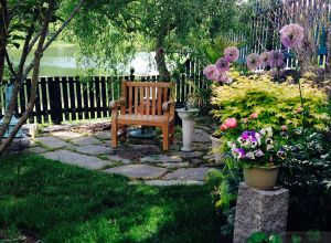 Teak Hyde Park Chair English Garden - Customer Photo