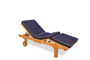 Chaise Sun Lounger Cushion ONLY - add product to basket to choose color