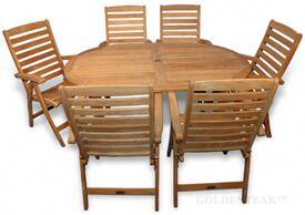 Teak Dining Set Captiva Portsmouth