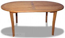 Teak Captiva Oval Table New