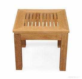 Teak Square End Table 6061