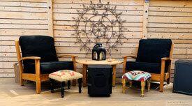 Teak Deep Seating Sofa, Club Chair - customer photos - AB-CA