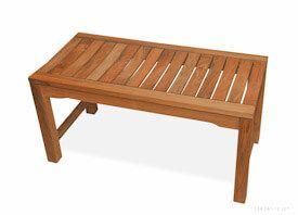 Teak Shower Bench Rosemont  - 36 inch