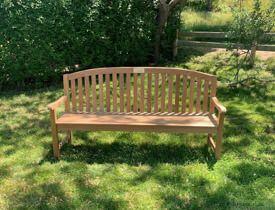 Teak Aquinah Bench 6ft at Public Garden Nantucket