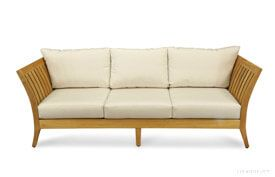 Deep Seating Sofa Outdoor - Premium Teak - Nevis Island Estate Collection