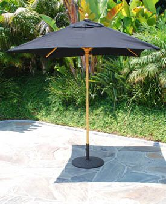 6ft Square Bistro Umbrella Commercial Quality