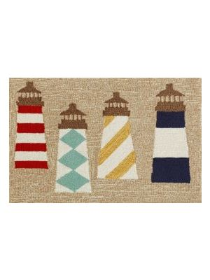 Lighthouses Rug