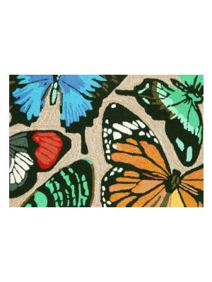 Butterfly Outdoor Rug