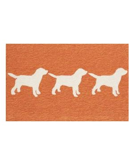 Orange Dog Rug