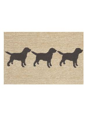 Brown Dog Rug