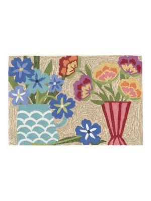 Flowers Outdoor Rug