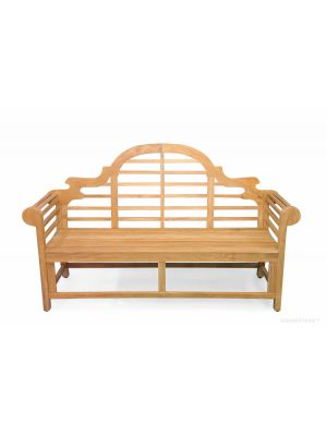 Lutyens Teak Bench 3str (6 ft)
